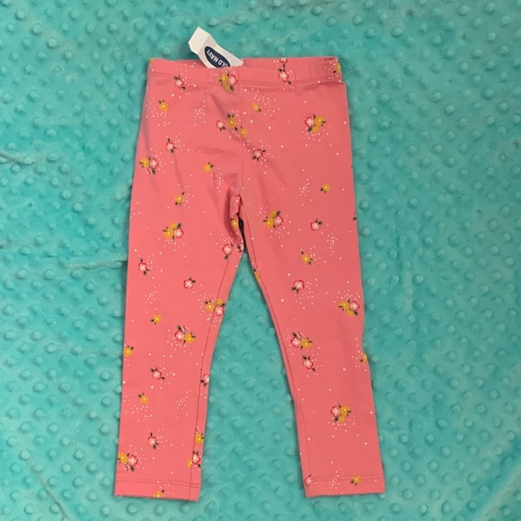 Old Navy Other - NWT Adorable Old navy leggings with fllowers